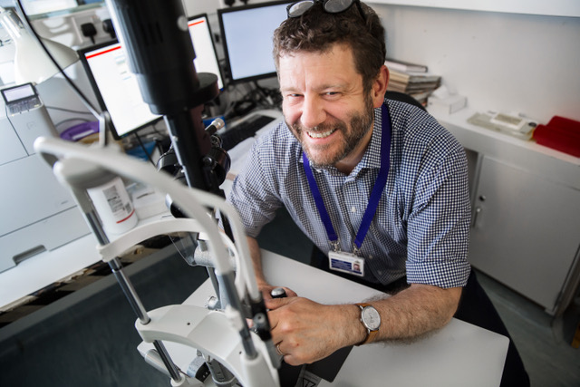 picture of Professor Gus Gazzard, MBBChir MA MD FRCOphth