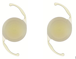 Trifocal lens image